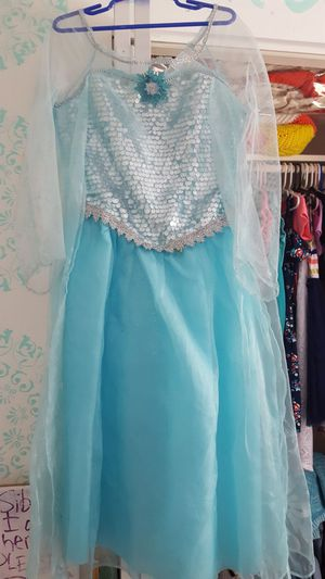 Elsa dress costume size 7 for Sale in Tampa, FL