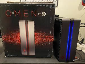 Gaming PC HP - OMEN by HP Desktop - Intel Core i5 - 8GB Memory - NVIDIA GeForce GTX 1060 - 1TB Hard Drive - Brushed Aluminum (200+fps on all games) for Sale in Davie, FL