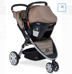 Britax B-Agile 3 & B-Safe 35 Travel System - Sandstone for Sale in St. Louis, MO