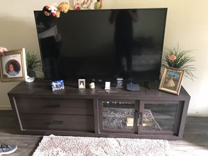 55inch TV WITH STAND for Sale in Phoenix, AZ