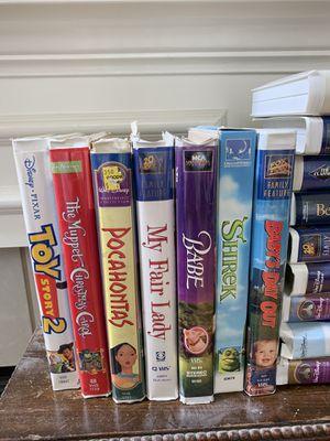 Disney/kids vhs movies for Sale in San Antonio, TX