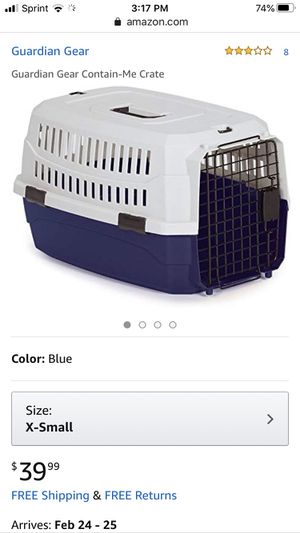 NWT American Kennel Club Pet Carrier XSmall for Sale in Woodstock, VA