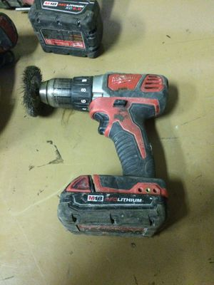 Milwaukee drill with battery for Sale in San Diego, CA