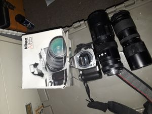 Two Nikon cameras and camera equipment for Sale in Glendora, CA