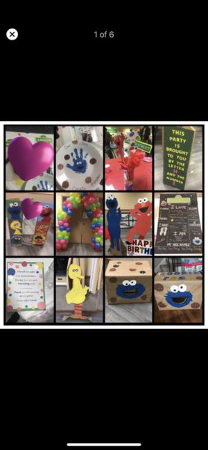 Custom party creations for Sale in Cleveland, OH