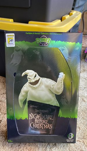 Comic con San Diego 2017 exclusive 8 domez Disney Tim Burton's the nightmare before Christmas set for Sale in San Diego, CA