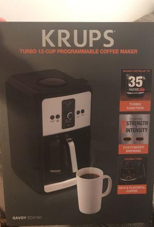 Krups Programmable Coffee Maker for Sale in Austin, TX