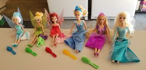 Princess and Tinkerbell Dolls for Sale in Gig Harbor, WA