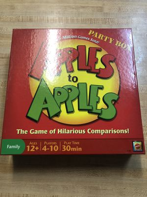 Apples to Apples for Sale in Dallas, TX