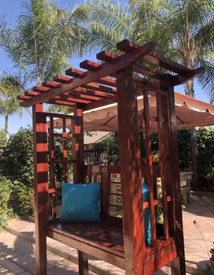 Garden Arbor Bench-Build to order only. for Sale in Reedley, CA