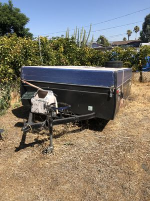 Pop up trailer camper camping trailer for Sale in Fontana, CA