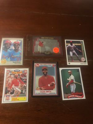 Baseball Ozzie Smith hologram card and other cards for Sale in Torrance, CA
