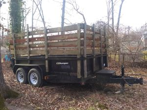 Trailer for sale hauling truck for Sale in Washington, DC