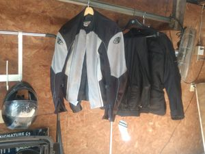 Joe rocket padded motorcycle jacket- size: large for Sale in Nashville, TN