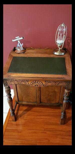 Vintage/Antique Wood Leather Top Boat Captain Desk for Sale in Sunrise, FL