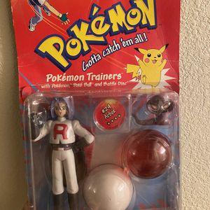Vintage Hasbro Pokémon James Fogure for Sale in Henderson, NV
