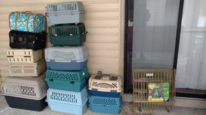 Small to large dog crates starting at $25 $35 + $45 for Sale in Columbus, OH