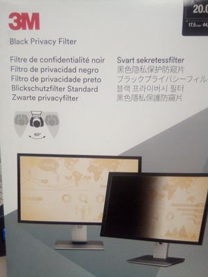 3M Black Privacy Computer Screen Filter for Sale in North Las Vegas, NV