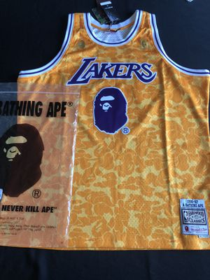 Bape Lakers Jersey for Sale in Durham, NC