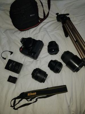 NIKON PHOTOGRAPHY KIT for Sale in Tacoma, WA