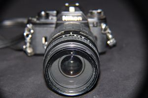Nikon em with lense for Sale in Lowell, MA