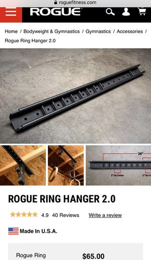 Rogue ring hanger 2.0 for Sale in Washougal, WA