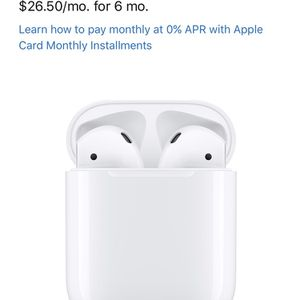 Apple iPod Wireless Earbuds With Case And Cord for Sale in Fairfax, VA