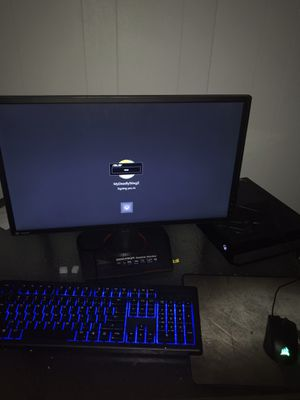 Gaming Monitor W/mouse & keyboard for Sale in Longview, TX