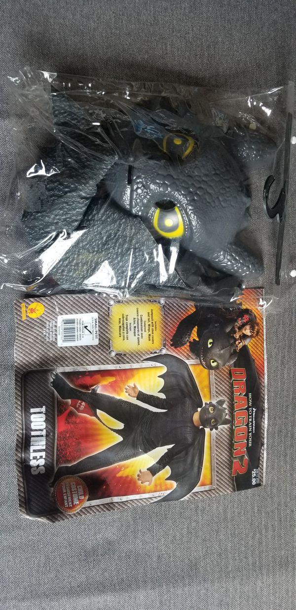 Toothless Dragon Costume