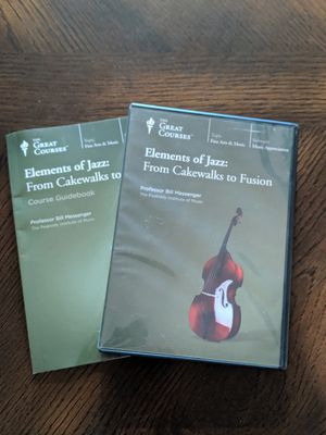 Great Courses Elements of Jazz for Sale in Geneseo, NY