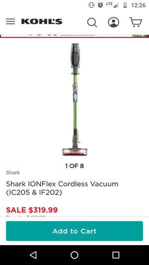 Shark cordless stick vacuum $99 obo for Sale in Oklahoma City, OK