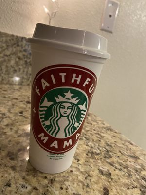 Faithful Mama Starbucks reusable cup for Sale in Fresno, CA
