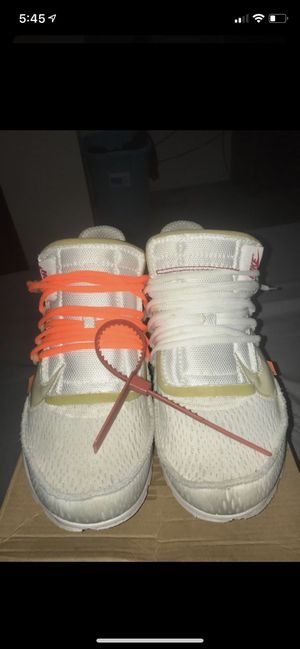Off-White Prestos for Sale in Moon, PA