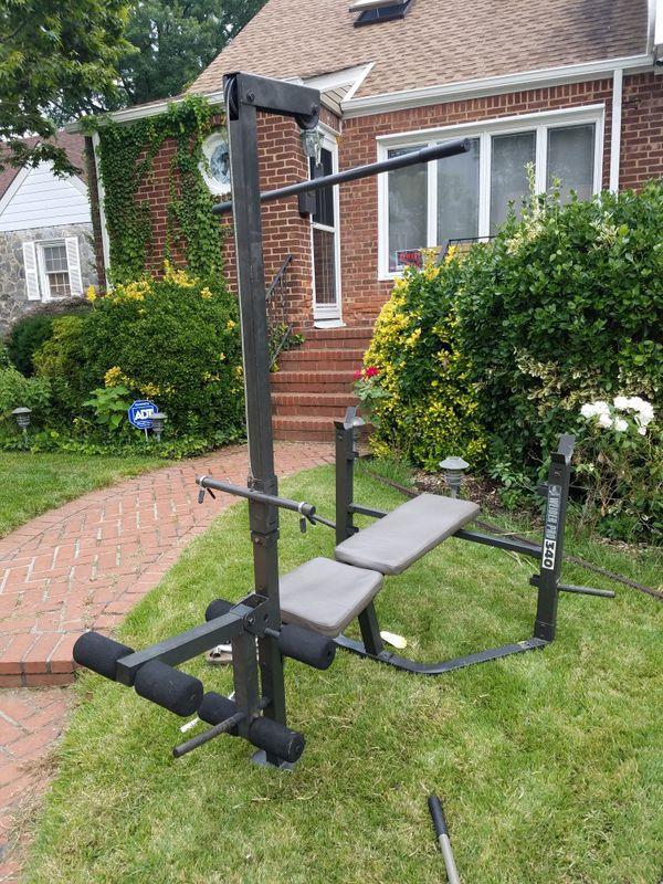 Weider Pro weight bench excellent condition