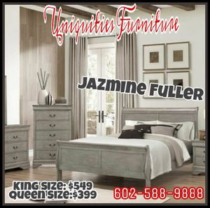 Queen size 4 piece bedroom set COLOR CHOICE for Sale in Peoria, AZ