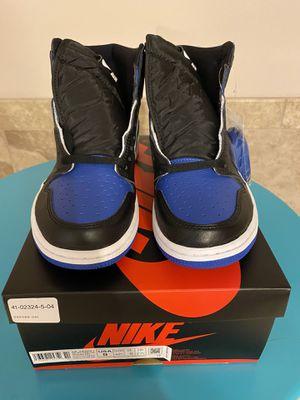 Jordan 1 royal 👑 toe size 9 brand new for Sale in Renton, WA