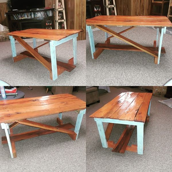 Handcrafted Coffee Table. One of a kind.