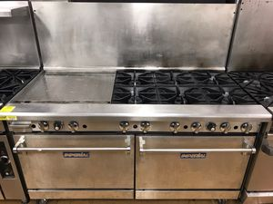 "Restaurant Equipment- 6-Burner Range w/ 24"" Griddle for Sale in Lexington, KY"