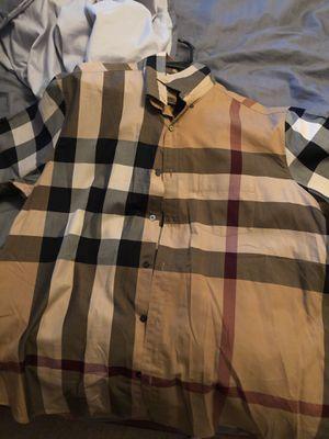 Burberry shirt for Sale in Auburndale, FL