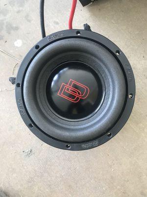 "New dd audio 8"" 1800 watt sub for Sale in Upland, CA"