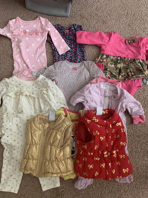 Baby girl newborn clothes for Sale in Clarksville, TN