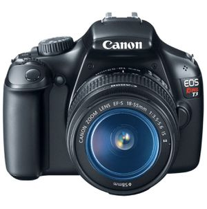 Canon EOS Rebel T3 Digital SLR Camera with EF-S 18-55mm f/3.5-5.6 IS Lens for Sale in Hacienda Heights, CA