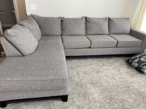 Sectional couch sale for $650 or OBO for Sale in Herriman, UT