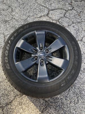 Black F150 FX4 Rims with Goodyear Tires for Sale in Tampa, FL