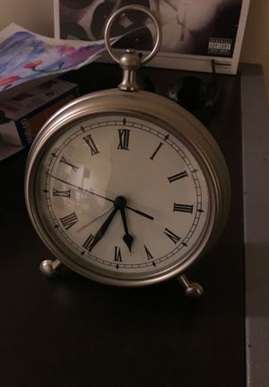 Pottery Barn Pocket Watch Alarm Clock for Sale in Los Angeles, CA