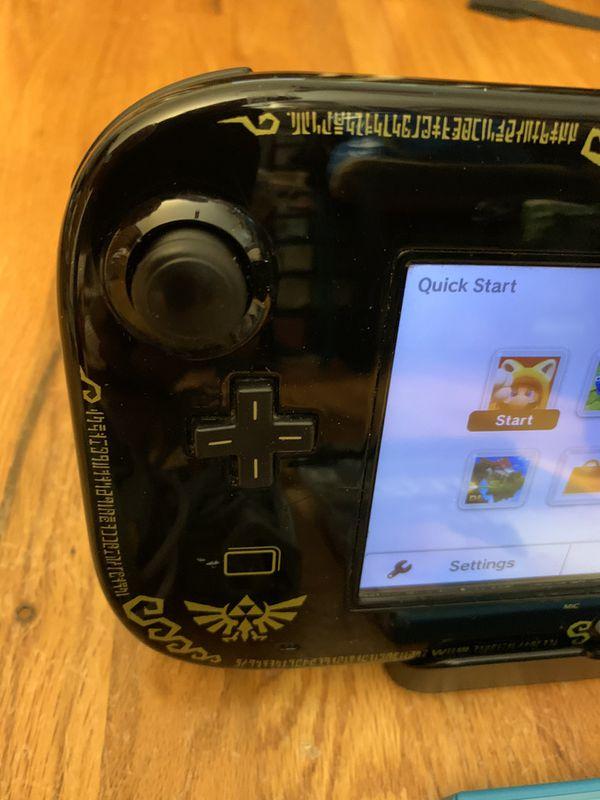Wii U Zelda Special Edition System with Zelda Breath of the Wild game