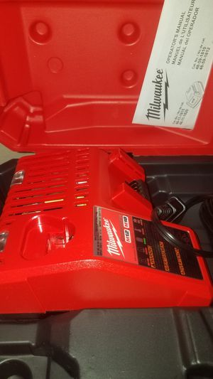 m18 m12 charger and hard case fuel impact and drill set new firm price/precio firme cargador y case for Sale in Escondido, CA