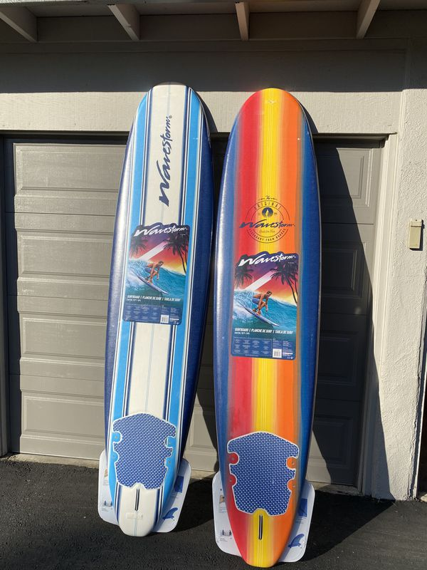 WaveStorm 8ft softtop beginner surfboards foam *NEW*