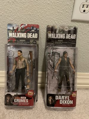 Rick Grimes and Daryl Dixon from The Walking Dead for Sale in Portland, OR