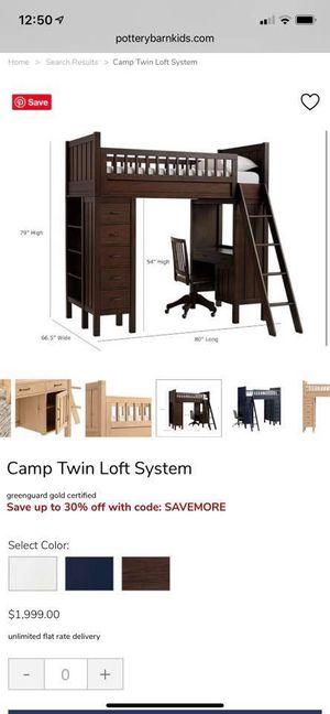 Pottery Barn Loft Bed for Sale in Tarpon Springs, FL
